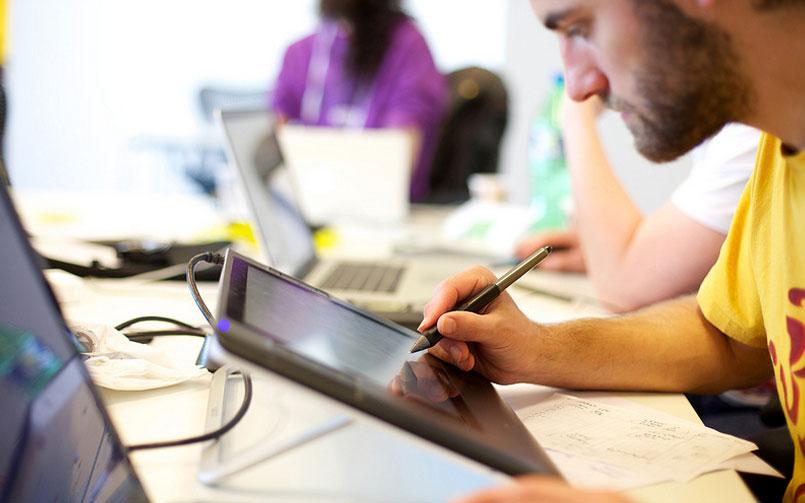 design tablet logo