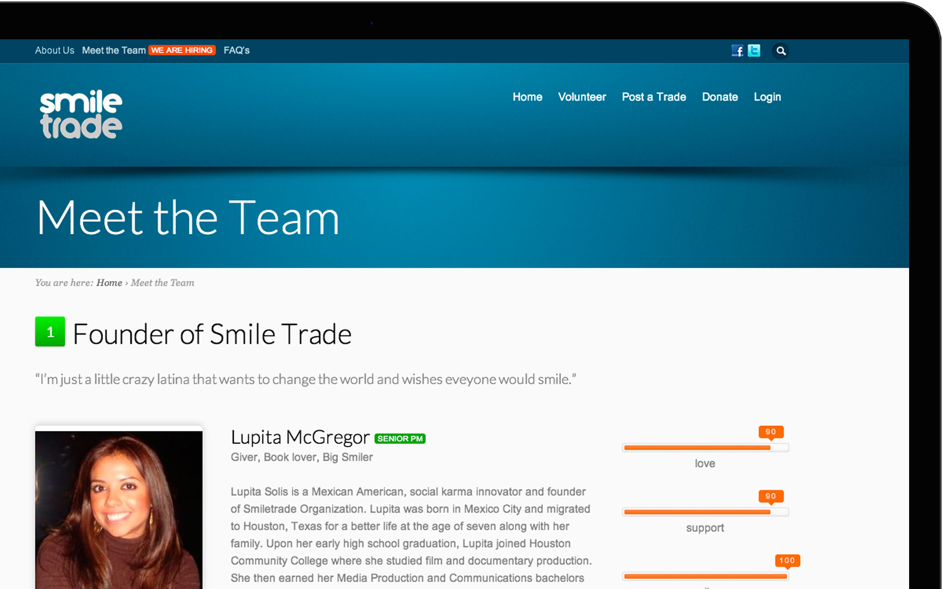 SMILE TRADE SCREENSHOT