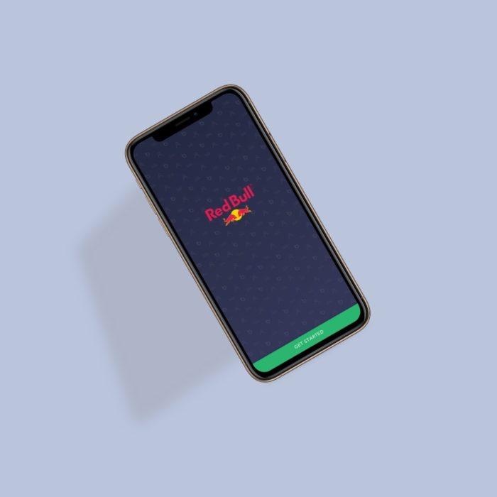 redbull portfolio work app design yeti