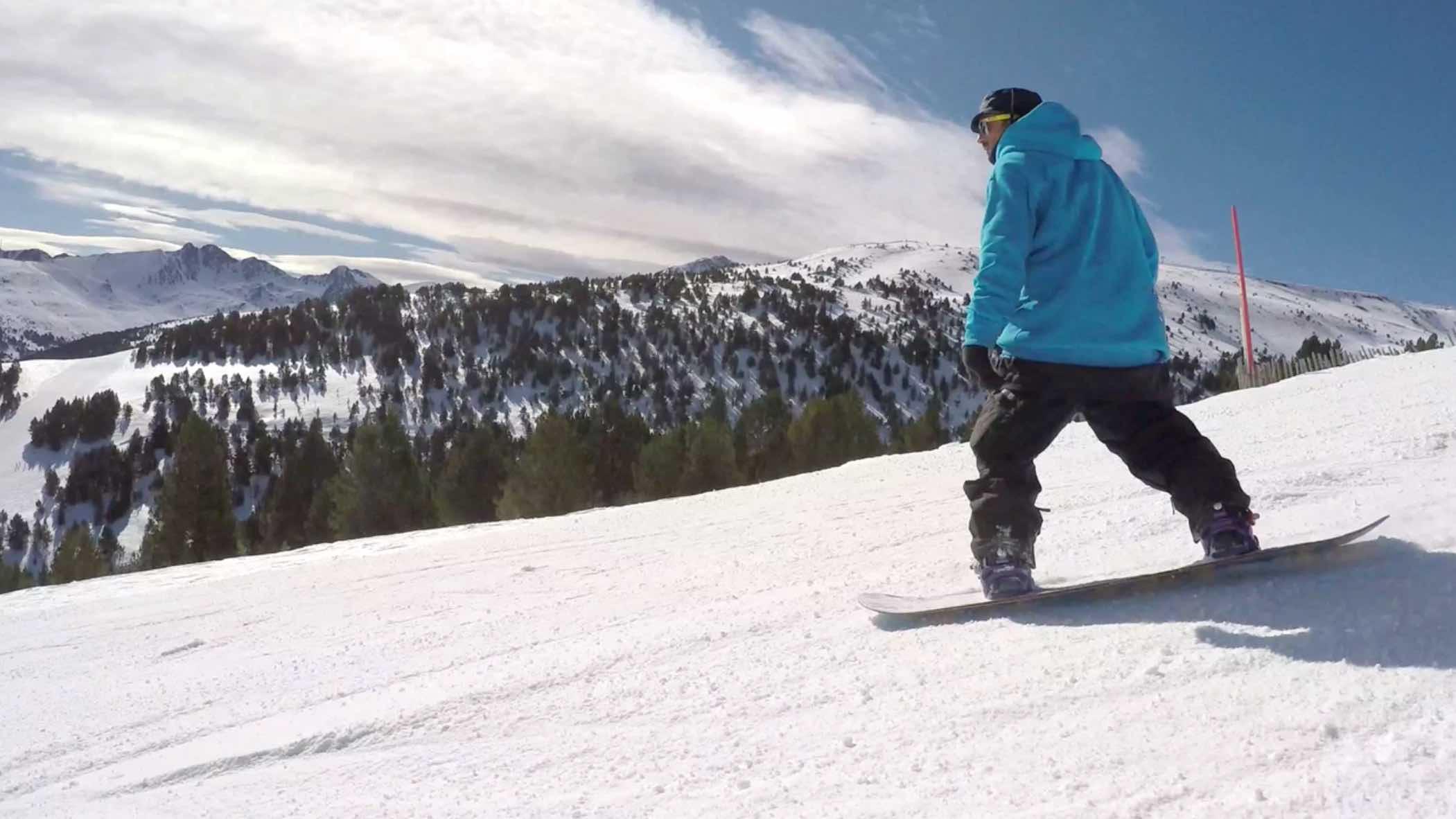 snowboarder yeti