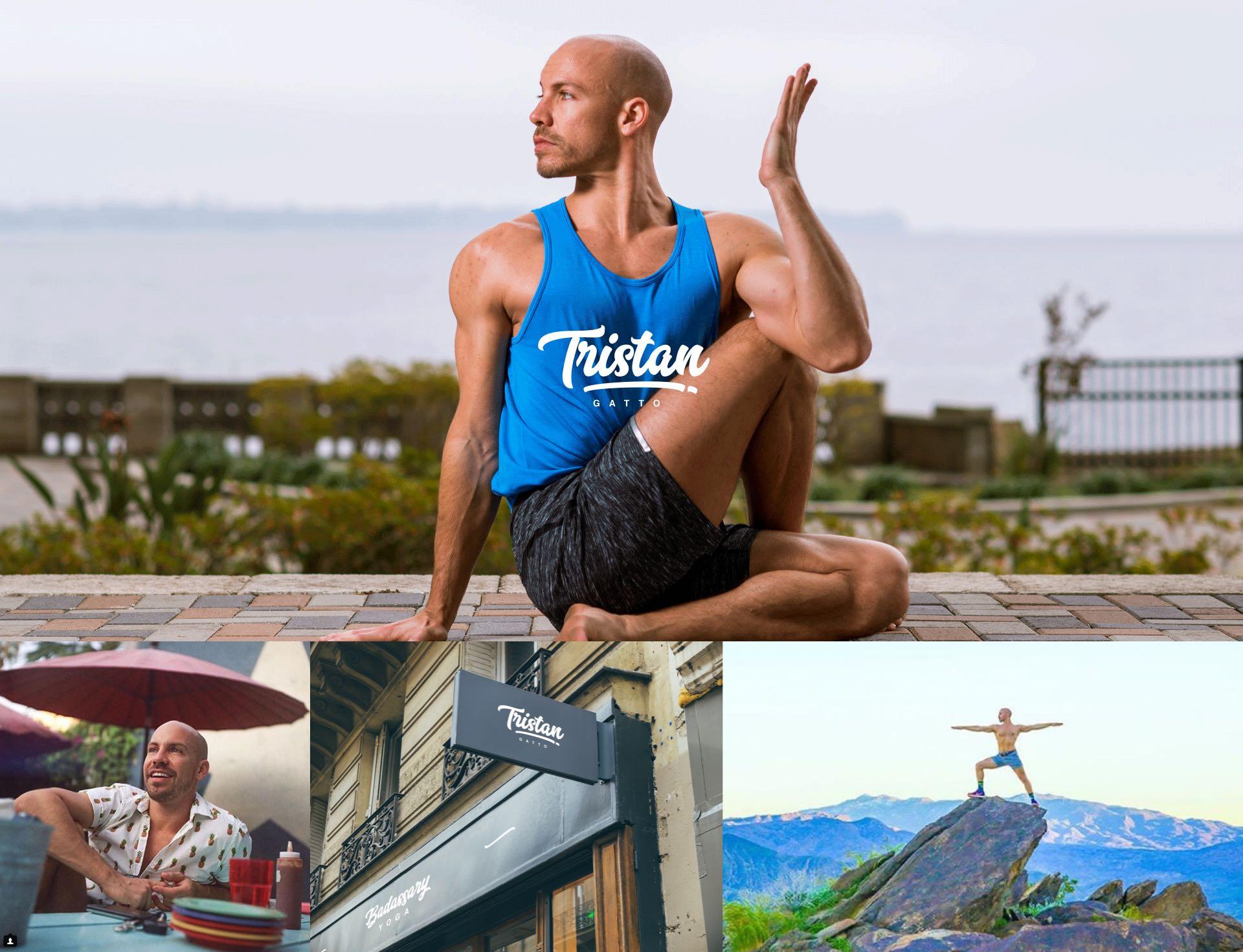 tristan gatto yoga brand identity yeti clients